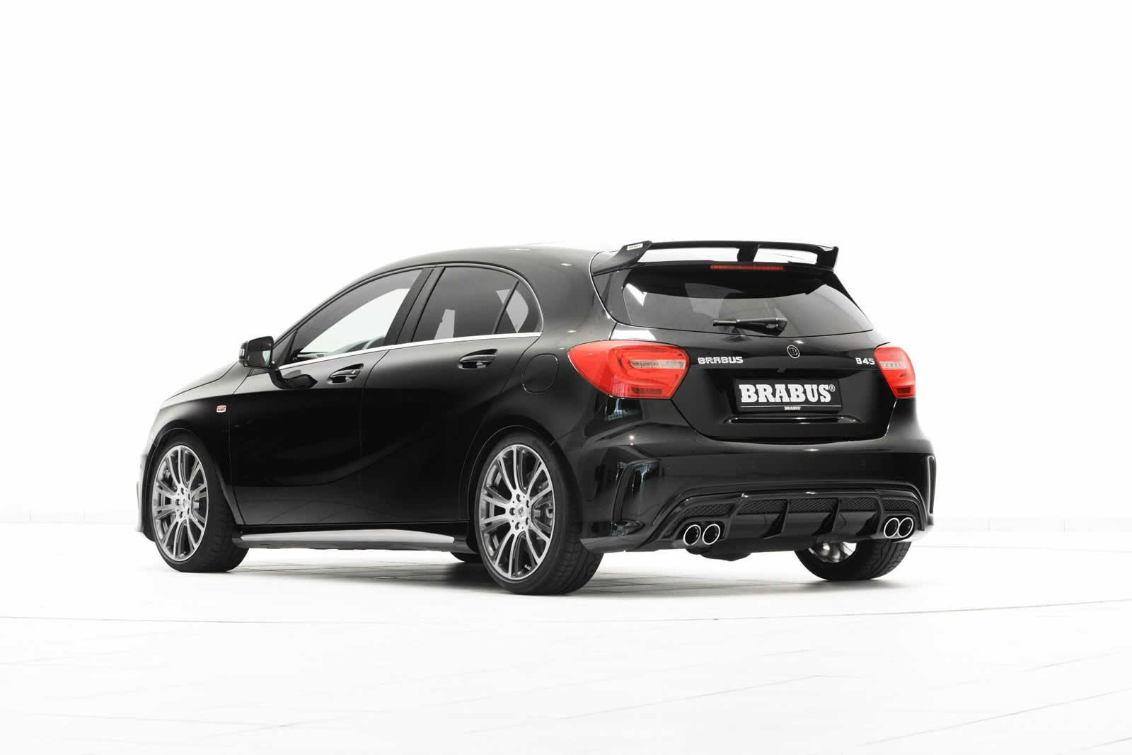 brabus mercedes a45 amg tuning kit autonews 1. Black Bedroom Furniture Sets. Home Design Ideas